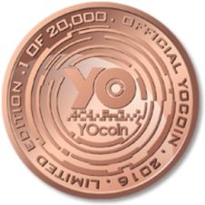 Yocoin Copper Coin