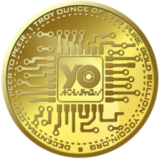YOcoin Gold Coin 2016 (back)