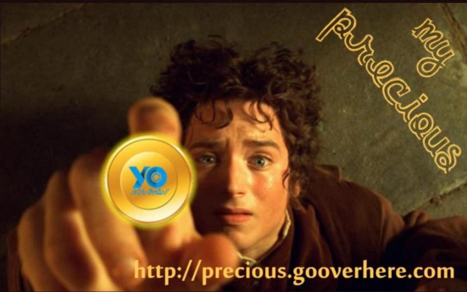 Bald das Verbot nicht mein kostbares 'YOcoin' entkommen.