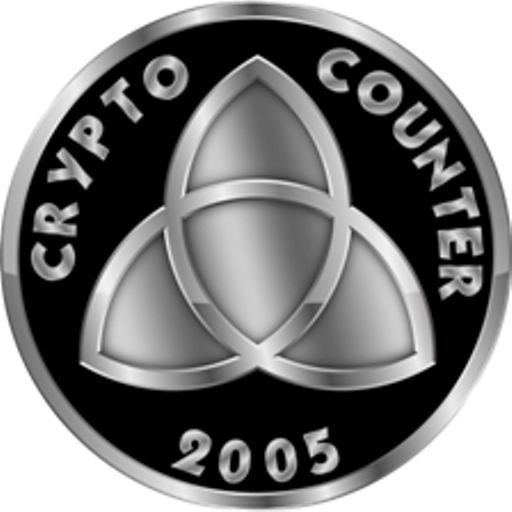 Website Home Page for CCC - CCC News - CryptoCounter.Com