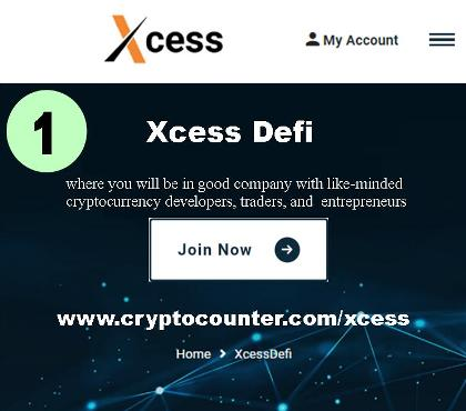 Join Xcess Defi and grow cryptocurrency