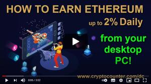 How to earn Ethereum from home computer using DappCluster